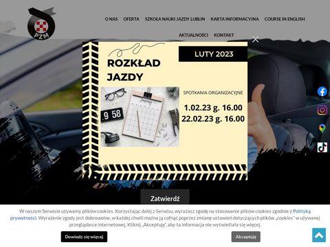 PZM szkoła nauki jazdy Lublin