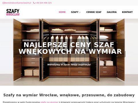 Szafywroclaw24.pl na wymiar indeco