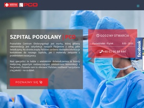 Szpitalpodolany.pl Poznańskie Centrum Otolaryngologii