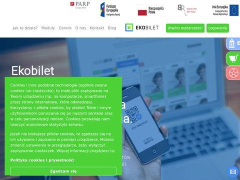 Ekobilet - internetowy system sprzedaży biletów