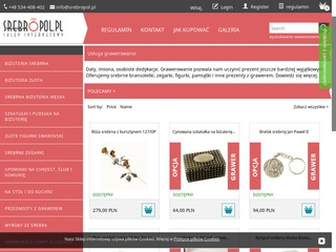 Srebropol.pl srebrna biżuteria i nie tylko