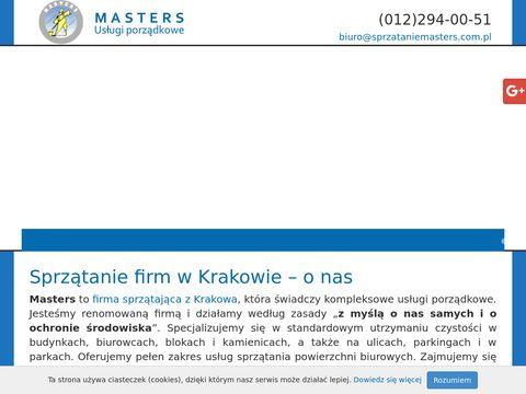 Masters Usługi sprzątania biur Kraków