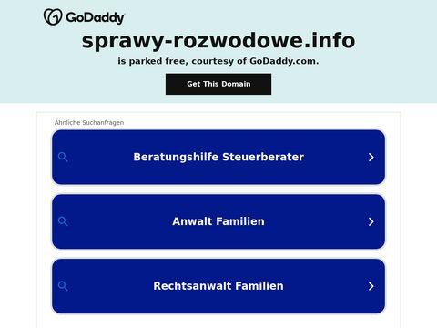 Sprawy-rozwodowe.info adwokat Warszawa alimenty