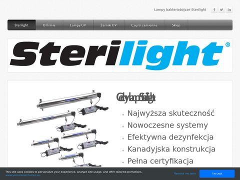 Sterilight.weebly.com - lampy bakteriobójcze