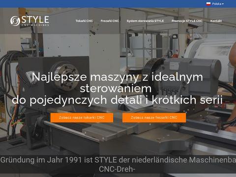 Stylecncmachines.pl tokarki CNC