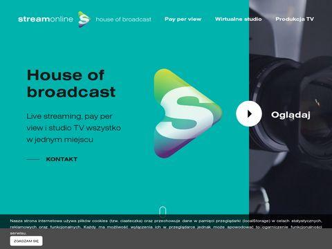 Streamonline.pl transmisje Warszawa