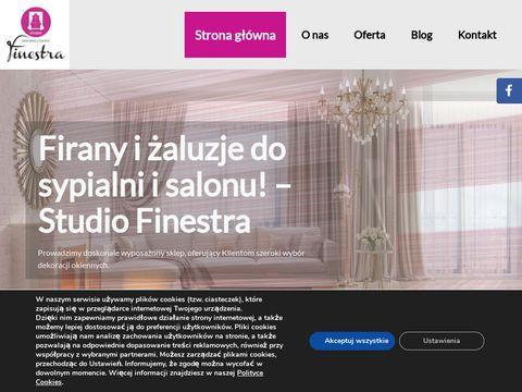 Studio Finestra zasłony