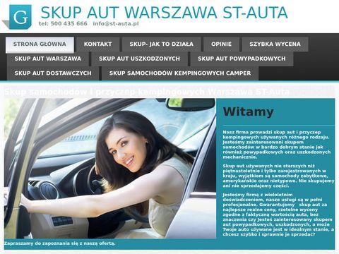 St-auta.pl skup aut używanych w Warszawie