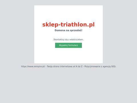 Sklep-triathlon.pl akcesoria pływackie Szczecin