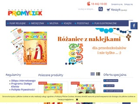 Sklep.promyczek.pl opowieści biblijne dla dzieci