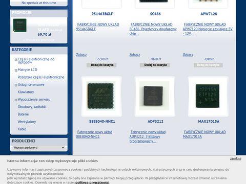 Sklep.midar.net.pl - wymiana układu BGA