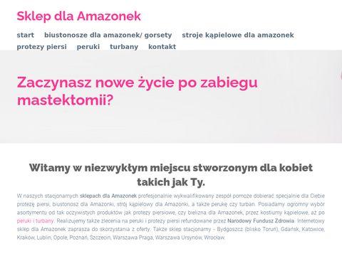 Sklepamazonka.pl protezy piersi