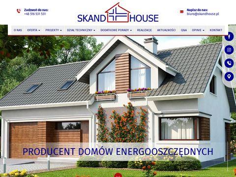 Skandhouse.pl producent domów energooszczędnych