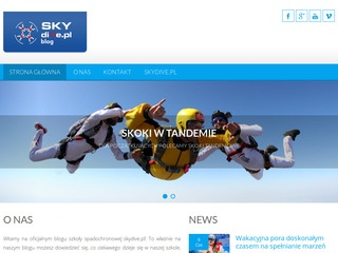 Skydiveblog.pl szkolenia AFF