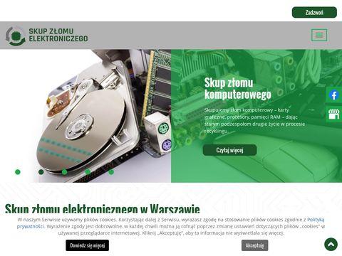 Ago Recykling skup elektrozłomu Warszawa