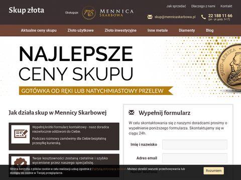 Mennica Skarbowa - skup złota