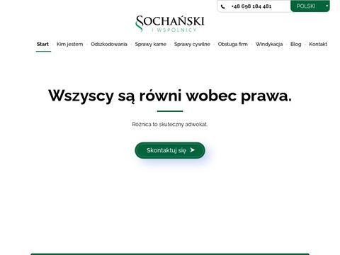 Sochanski.com - kancelaria adwokacka Kielce