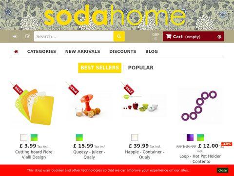 Sodahome.net sklep wnętrzarski