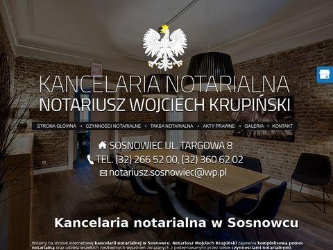 Wojciech Krupiński kancelaria notarialna
