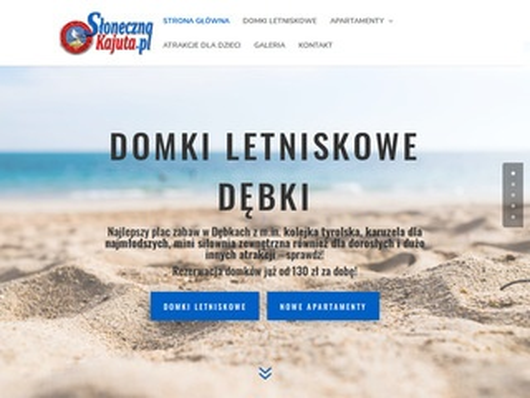 Slonecznakajuta.pl noclegi Dębki