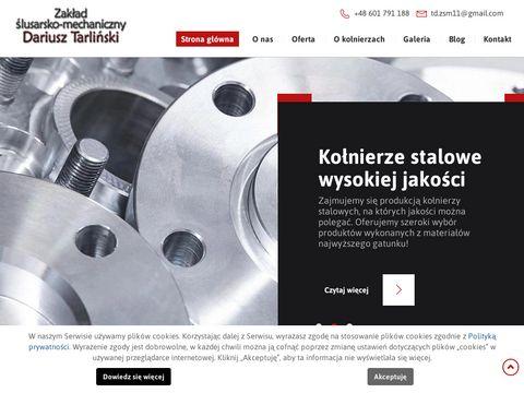 Slusarzmechanik.eu kołnierze stalowe