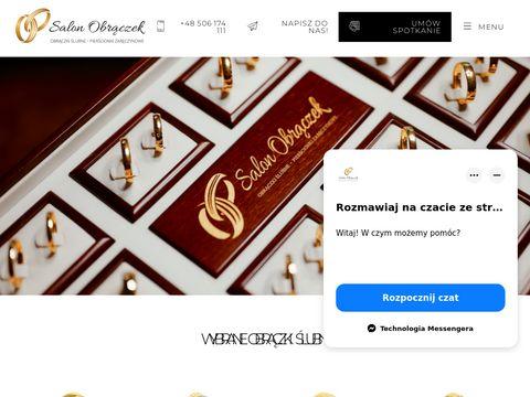 Salonobraczek.pl pierścionki zaręczynowe