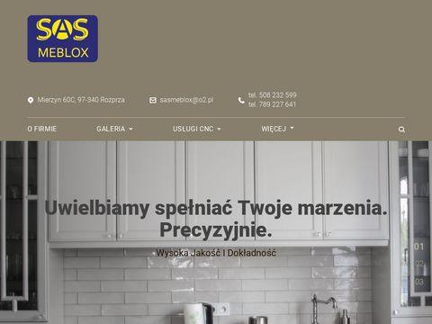 SAS Meblox zabudowy wnęk Łódź