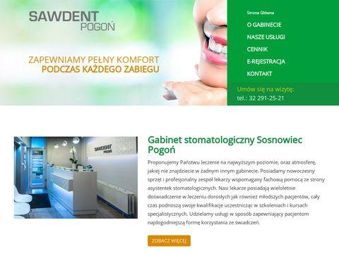 Sawdent-Pogoń implanty Sosnowiec