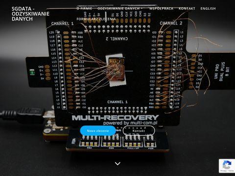 SGdata - outsourcing informatyczny Gliwice, Zabrze
