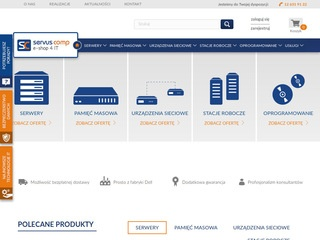 Servus-comp.pl e-shop 4 IT