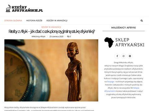 Rzezbyafrykanskie.pl figurki