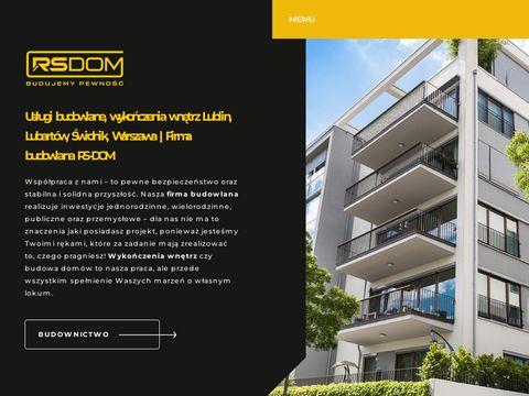 Rs-dom.pl Radosław Skarżycki usługi budowlane