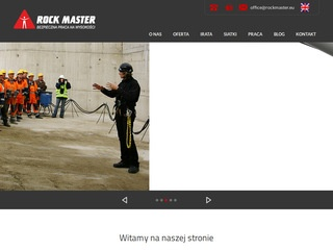 Rockmaster - Szkolenia wysokościowe