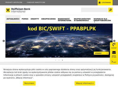 Raiffeisen Polbank - karty kredytowe