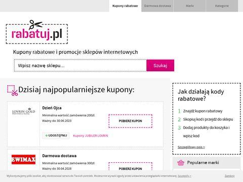 Rabatuj.pl - kupony rabatowe