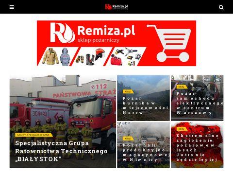 Remiza.com.pl - portal dla strażaków