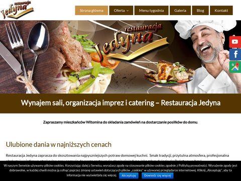 Restauracjajedyna.pl garmaż na zamówienie Gdynia
