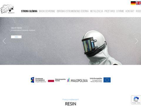 Resinbhp.pl odzież dla odlewników