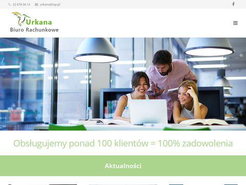 Urkana biuro rachunkowe Warszawa