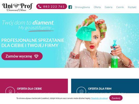 Uniprof-sprzatanie.pl pranie dywanów Klucze