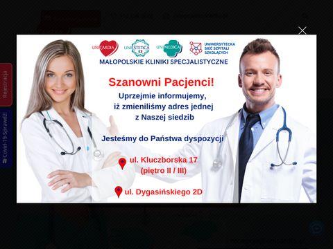 Unicardia.pl chirurg naczyniowy Kraków
