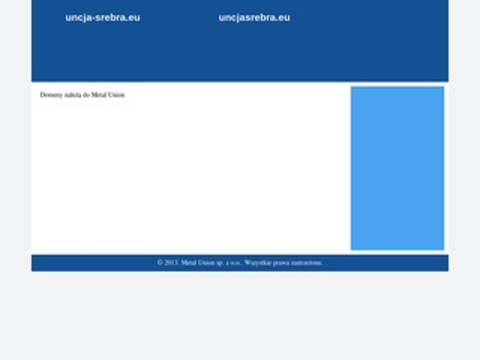 Uncja-srebra.pl - monety świata