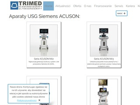Trimed.pl - ultrasonix