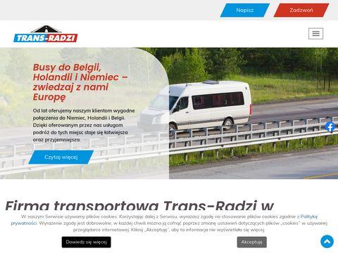 Trans-Radzi autobus Holandia Polska