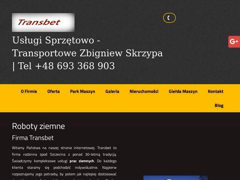Transbet.skrzypa.com transport niskopodwoziowy
