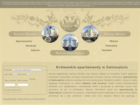 Trzy-korony.pl apartamenty w Świnoujściu