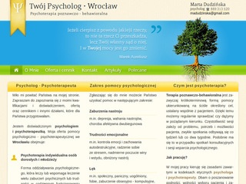 Psycholog Wrocław - twojpsycholog.wroclaw.pl