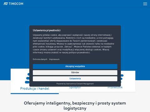 Timocom.pl giełda transportowa