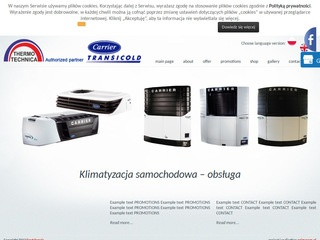 Thermo Technica chłodnictwo transportowe