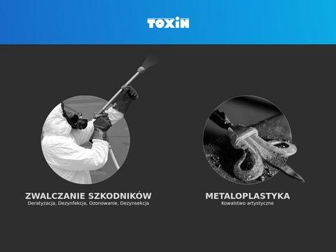 Toxin.com.pl zwalczanie szkodników